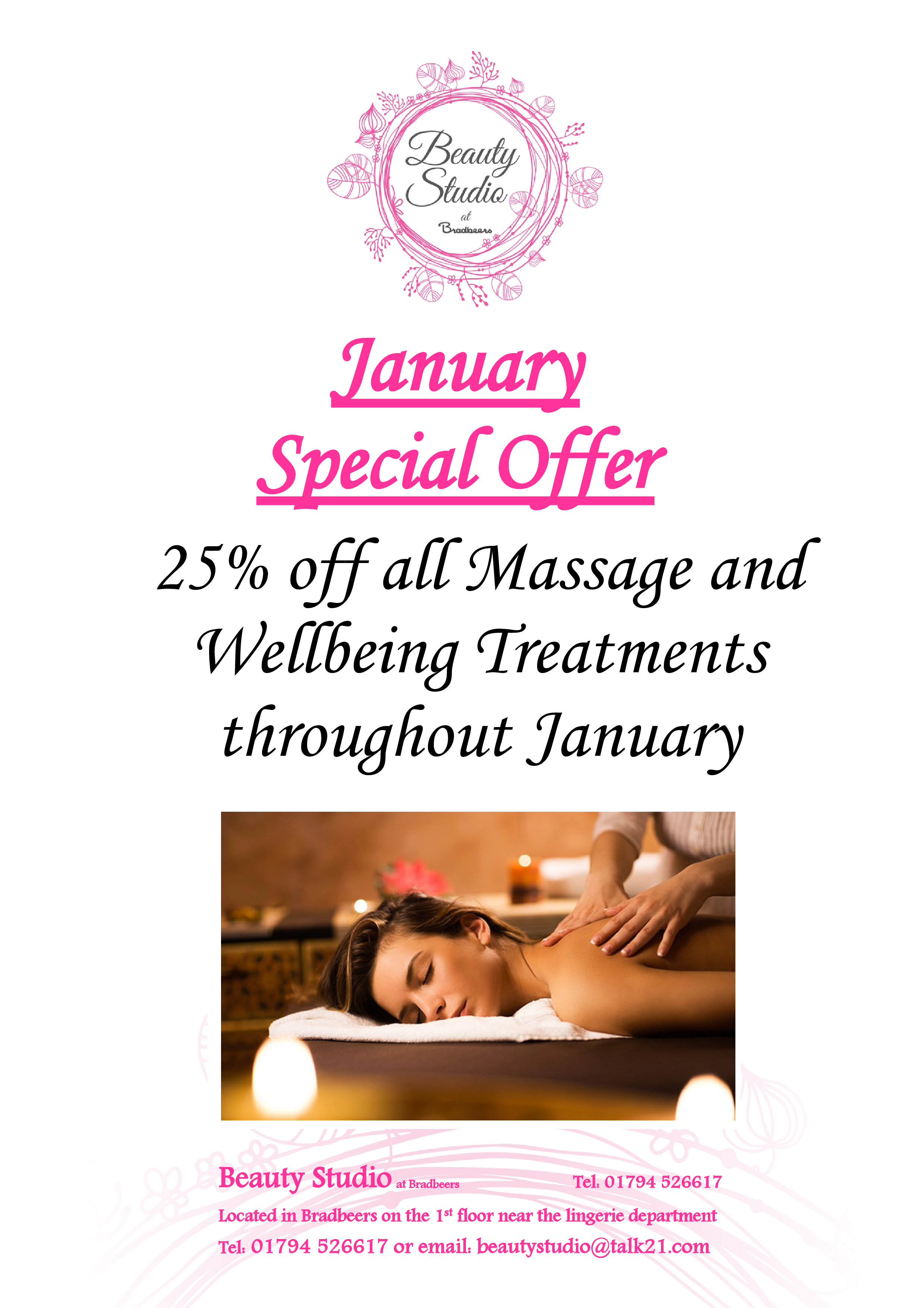 1. January Special Offer