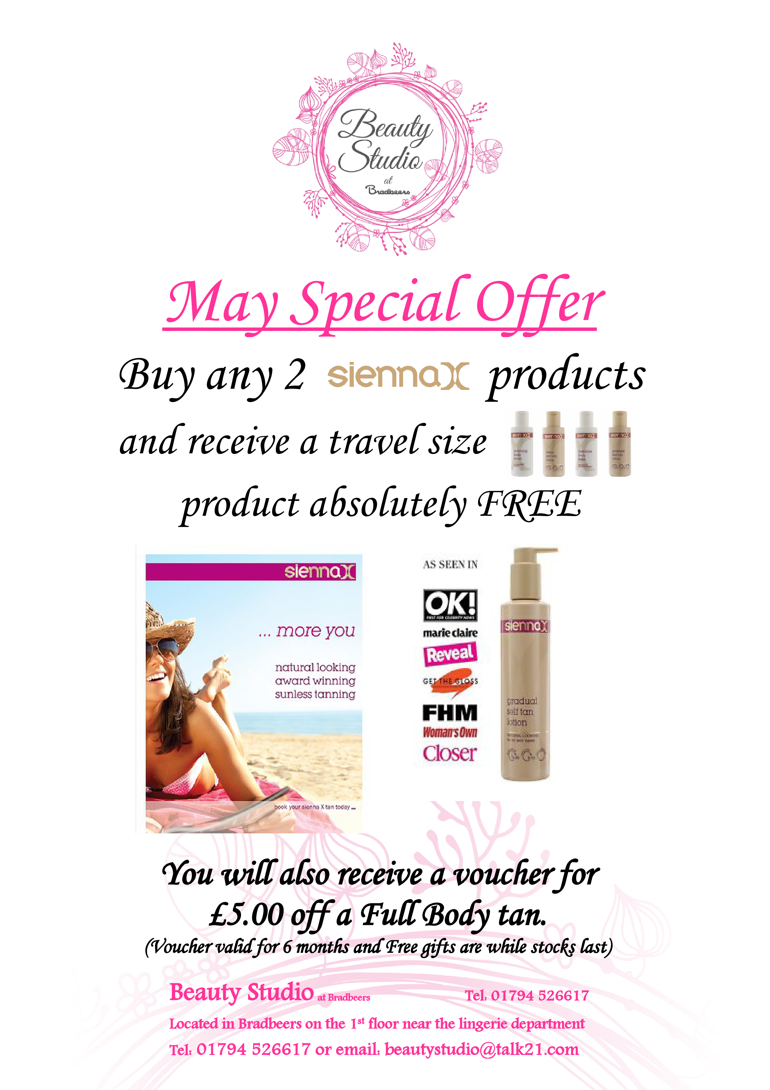 5. May special offer