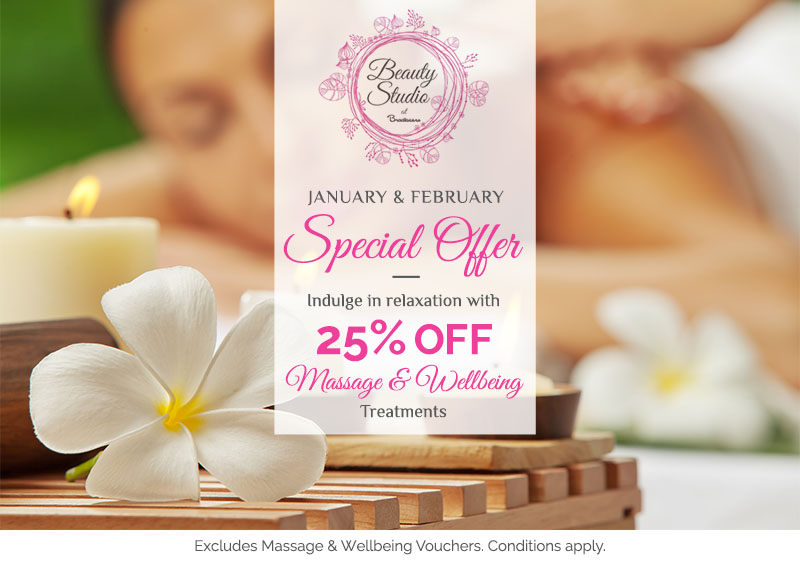 Special Offers for Massage and Wellbeing Treatments